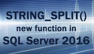 [SQL SERVER] Hướng dẫn sử dụng hàm  STRING_SPLIT tách chuỗi thành bảng table