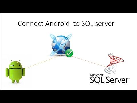 Lập trình android - Ứng dụng giao tiếp với SQL Server