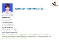 Hướng dẫn tạo Mail Merge trong VB.NET