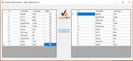 [C#] Hướng dẫn tạo checkbox Datagridview và truyền dữ liệu giữa hai Gridview