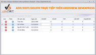 Hướng dẫn Thêm Xoá Sửa trực tiếp trên Gridview của Devexpress sử dụng DataAdapter cập nhật xuống database