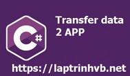[C#] Hướng dẫn truyền dữ liệu giữa hai ứng dụng