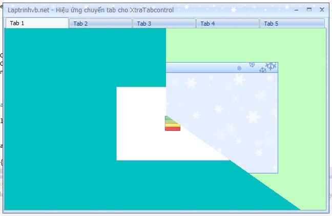 XtraTabcontrol - Tạo hiệu ứng chuyển cảnh khi chọn Page
