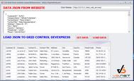 Hướng dẫn lấy dữ liệu json từ website sử dụng Web Services