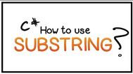 [C#] Hướng dẫn cắt chuỗi LEFT, MID, RIGHT dùng hàm Substring trong lập trình Csharp