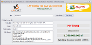[VB.NET] Demo chương trình lấy thông tin website trên trang web rao vặt mua bán chợ tốt tự động.