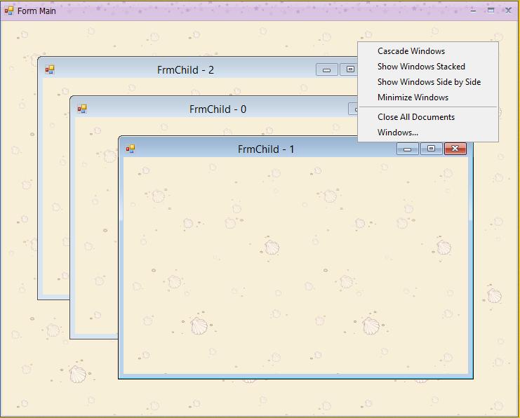 Hướng dẫn sử dụng DocumentManager để làm MDIForm  [C#]