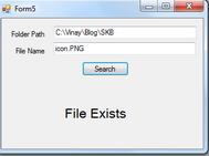 Hướng dẫn lập trình kiểm tra file tập tin có tồn tại hay không bằng Csharp