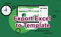 [C#] Hướng dẫn xuất dữ liệu từ data ra file Excel template sử dụng Epplus